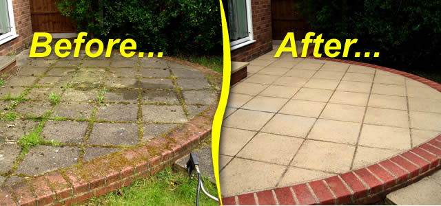 Jetwashing And Patio Cleaning